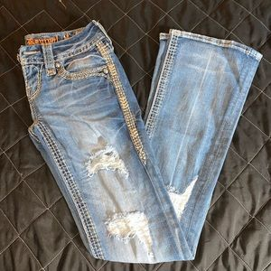 Rock Revival Distressed Jeans